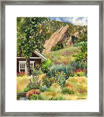 Chautauqua Cottage Framed Print