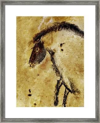 Chauvet Horse Framed Print