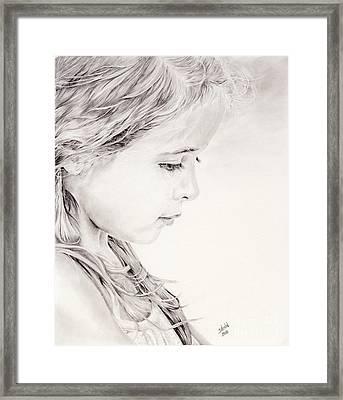 Chavonne Framed Print by Shevin Childers