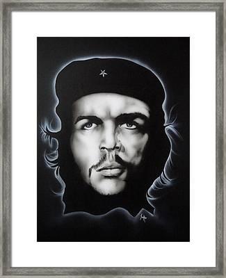 Che Guevara Framed Print by Stephen Sookoo