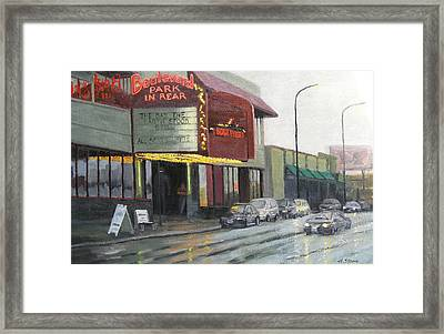 Cheap Seats Framed Print by Holly Stone