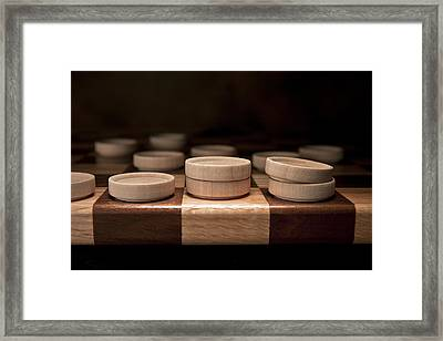 Checkers I Framed Print by Tom Mc Nemar
