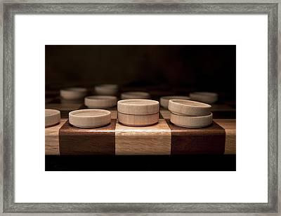 Checkers I Framed Print