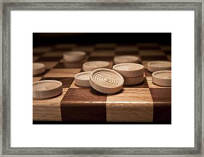 Checkers II Framed Print