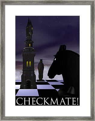 Checkmate Framed Print by David Griffith