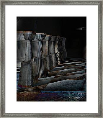 Checkmate Framed Print