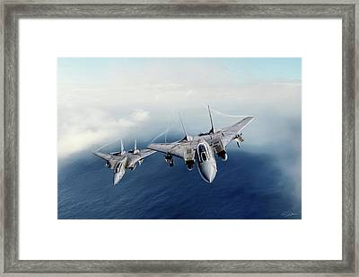 Checkmate Section Framed Print by Peter Chilelli
