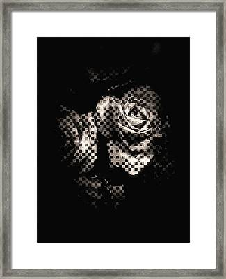 Checkmated Framed Print by Susan Maxwell Schmidt