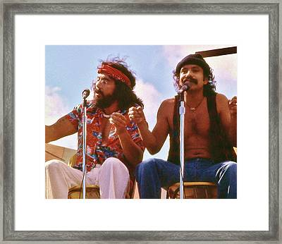 Cheech And Chong Of Old Framed Print
