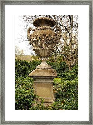 Cheekwood Urn Framed Print by Donald Groves