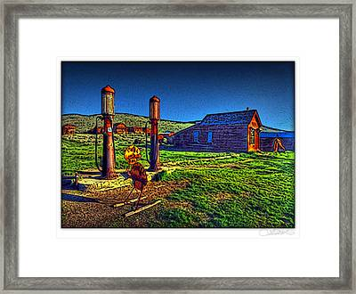 Cheerful Abandonment Framed Print by Lar Matre