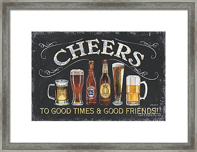 Cheers  Framed Print by Debbie DeWitt