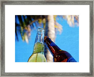 Beer Cheers   Framed Print by JAMART Photography