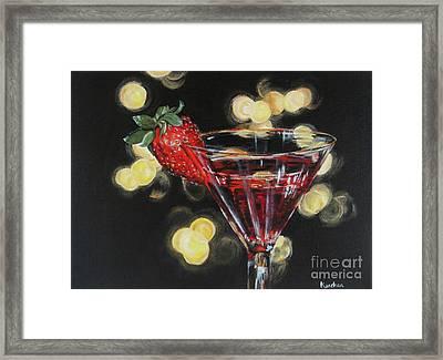 Cheers Framed Print by Kanchan Mehendale