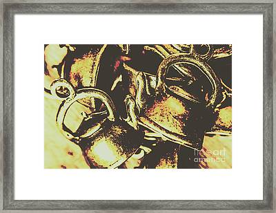 Cheers To A Messy Kitchen Framed Print