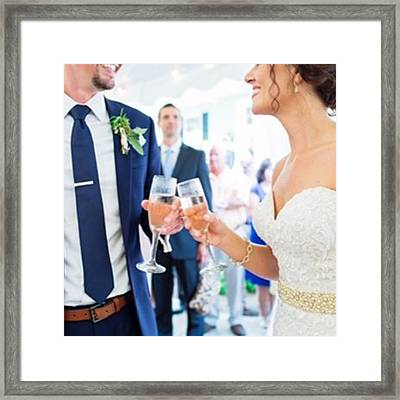 Cheers To A New Year! We Hope It's Framed Print