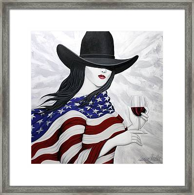 Cheers To America 1 Framed Print