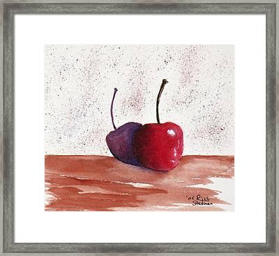 Cheery Cherry Framed Print by Rich Stedman