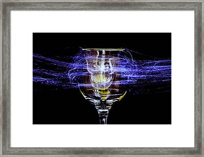 Cheese And Wine Framed Print by Marnie Patchett