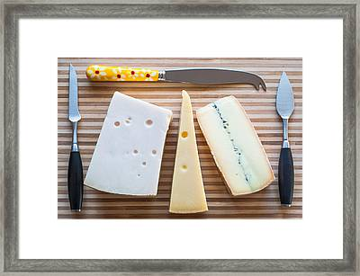 Framed Print featuring the photograph Cheese Board by Ari Salmela