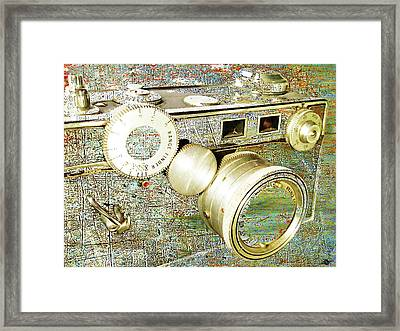 Framed Print featuring the mixed media Cheese by Tony Rubino