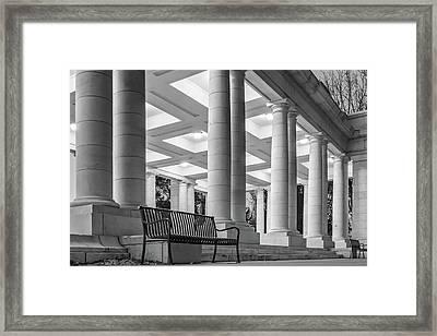Cheesman Pavillion Framed Print