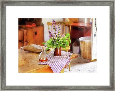 Chef - Every Morning  Framed Print