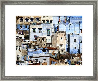 Chefchaouen 1 Framed Print by Kenton Smith