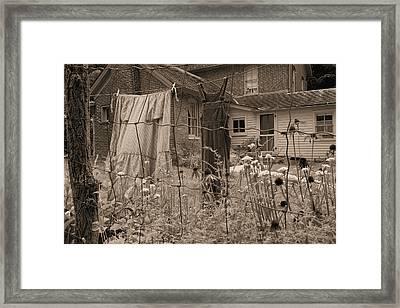 Chellberg Laundry Framed Print