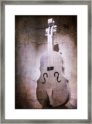 Chello Abstract Framed Print by Garry Gay