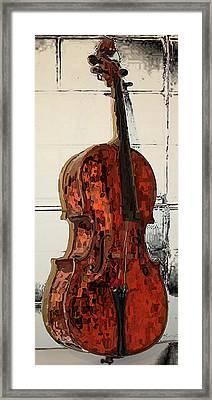 Chello Framed Print