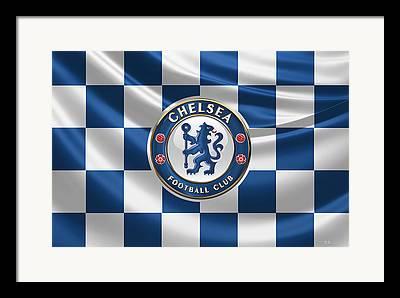 Chelsea Football Framed Prints