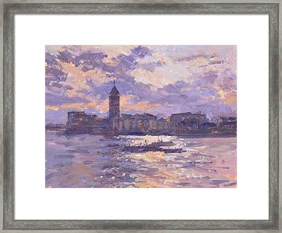 Chelsea Harbour Framed Print by Christopher Glanville