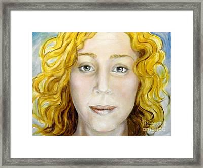 Chelsea Framed Print by Ida Eriksen
