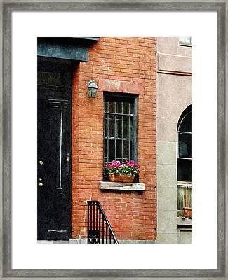Chelsea Windowbox Framed Print
