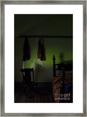 Chelsies Room At Dusk Framed Print by The Stone Age