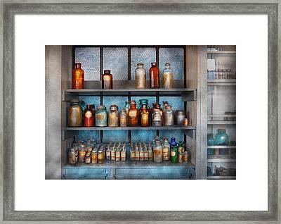 Chemist - My First Chemistry Set  Framed Print