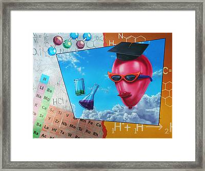 Chemistry Framed Print by Jack Knight