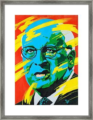 Cheney Framed Print by Dennis McCann