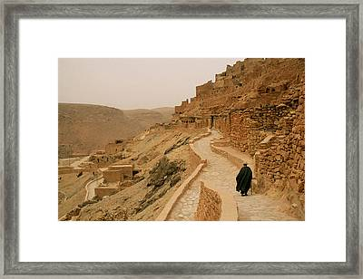 Chenini - Tunisia Framed Print by Cambion Art