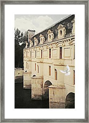 Chenonceau Dreams Framed Print