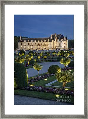 Chenonceau Lights Framed Print