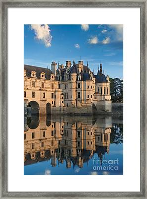 Chenonceau Morning II Framed Print
