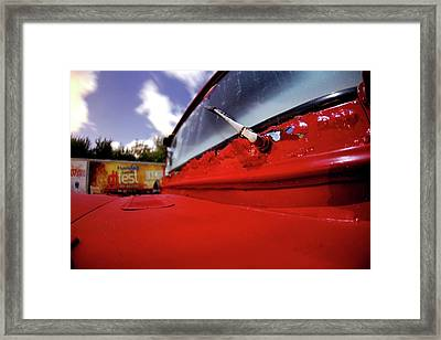 Cherikee Red One Framed Print