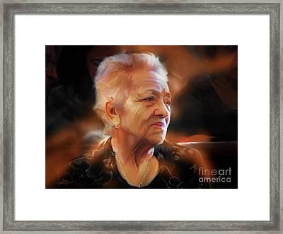 Cherish Every Moment..... Framed Print by Bob Salo
