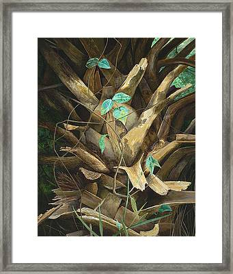 Cherished Boots Framed Print by AnnaJo Vahle