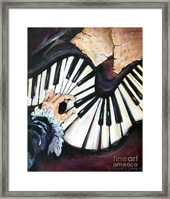 Cherished Music Framed Print