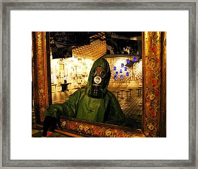 Chernobyl Icon Framed Print by Juozas Mazonas