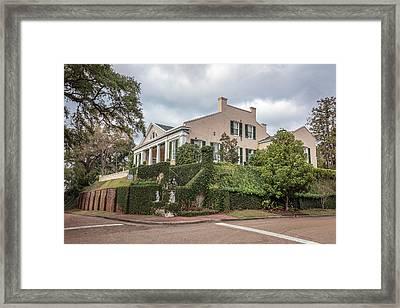 Cherokee House Natchez Ms Framed Print