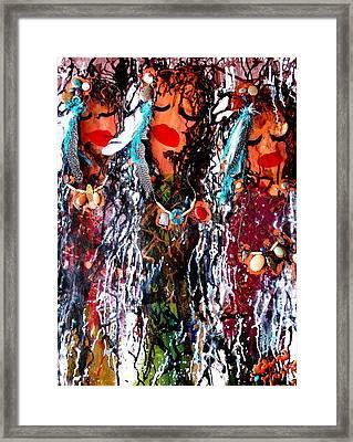 Cherokee Trail Of Tears  Framed Print by Laura  Grisham
